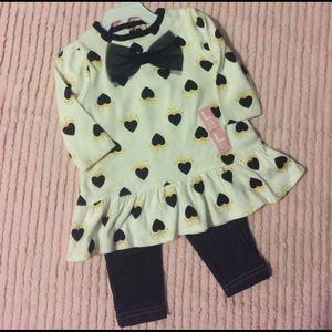 Bon Bebe Other - BNWT Bon bebe 2 pc outfit