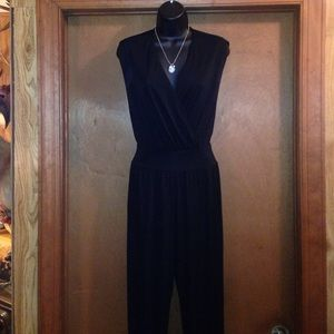 Bailey 44 Pants - BAILEY44 BLACK SIZE XS ONE PIECE PANT SUIT VINTAGE
