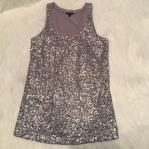 SALEExpress Sequin Tank Top Gary Small