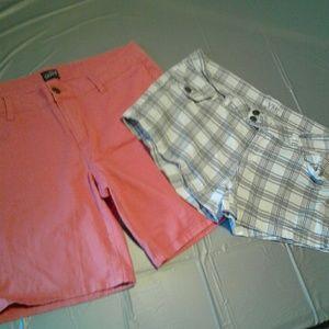 YMI Pants - Cute shorts! 2 pair lot! Both Jr. Sz.15