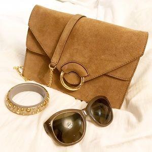 Banana Republic Handbags - Suede purse