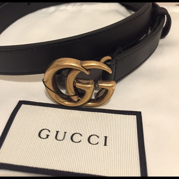 ec01d22749349 Gucci black double G belt size 70