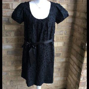 Robert Rodriguez Dresses & Skirts - ROBERT RODRIGUEZ - MINI EYELET SHIFT DRESS - sz 10