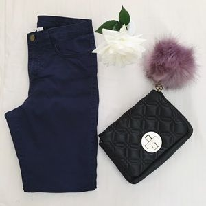 H&M Pants - Navy High Waisted Pants