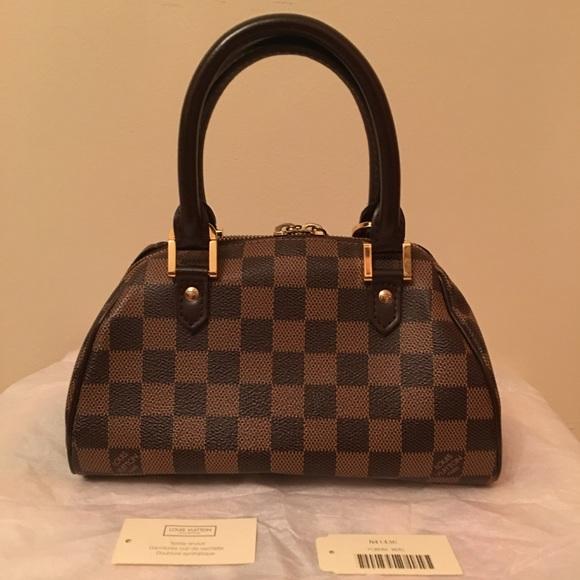 91314fe3ac1e Louis Vuitton Handbags - ✂️Louis Vuitton Damier Ebene Ribera Mini-Very Good