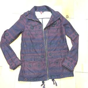 H&M Jackets & Blazers - H&M parka jacket wine colors size 4