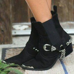 Arnhem Shoes - Arnhem Ranger Boots Jet Black (36)