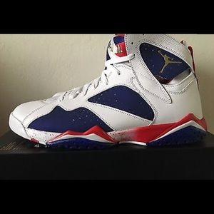 "Jordan Shoes - Air Jordan 7 Retro "" Trinker Alternate Olympic """
