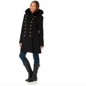 Hilary Radley Jackets & Blazers - Double breasted military peacoat