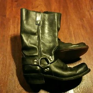 Vintage Shoes - Motorcycle boots