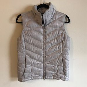 North Face Jackets & Blazers - Silver North Face Vest