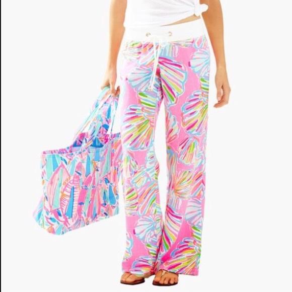 Nwt Xs Beach Pant Pink Pout