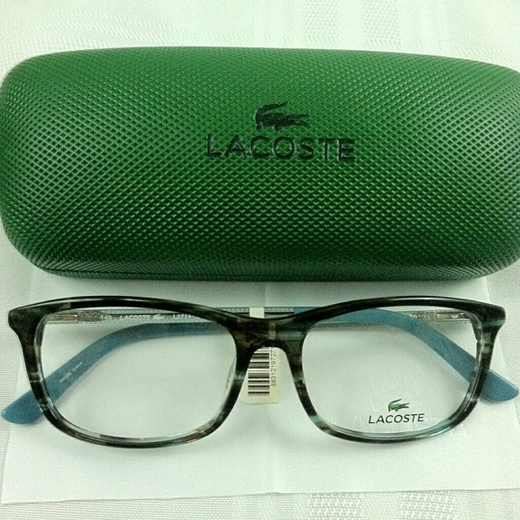 7169621e34 NEW Lacoste women s eyeglass frames case cloth NEW