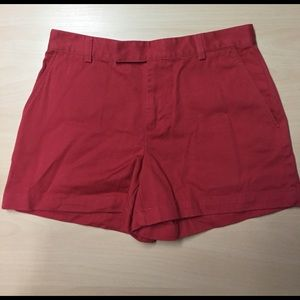 Ralph Lauren Pants - Ralph Lauren Sunwashed Red Chino Shorts - 4