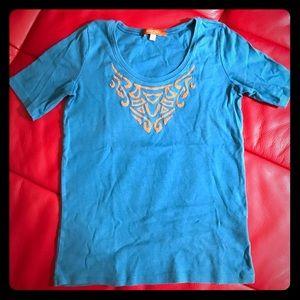 Ellen Tracy Tops - Ellen Tracy blue shirt
