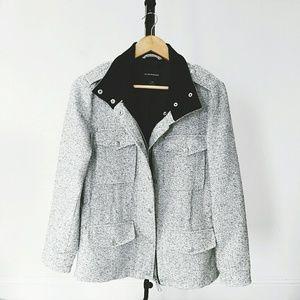 Club Monaco Jackets & Blazers - Club Monaco Speckled Utility Jacket