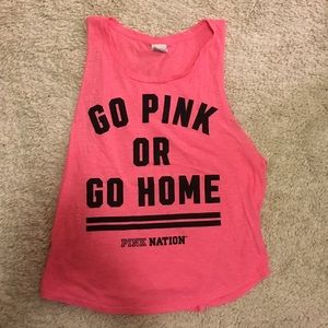 BRAND: Victoria's Secret PINK workout muscle tank