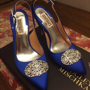 Badgley Mischka Shoes - Badgley Mischka satin heel