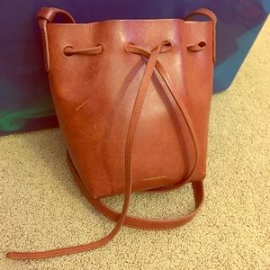 Mansur Gavriel bucket bag mini mini size