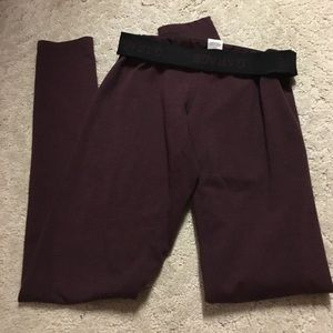 Garage Pants - Maroon Leggings