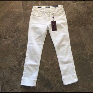 Vigoss Denim - New Vigoss white crop jeans