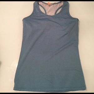 Lucy green racerback workout tank