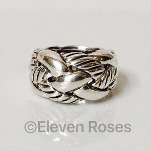 David Yurman Jewelry - David Yurman Sterling Silver Cable Knot Ring