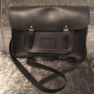 "Cambridge Satchel Handbags - Cambridge Satchel Co 13"" Classic Black Satchel"