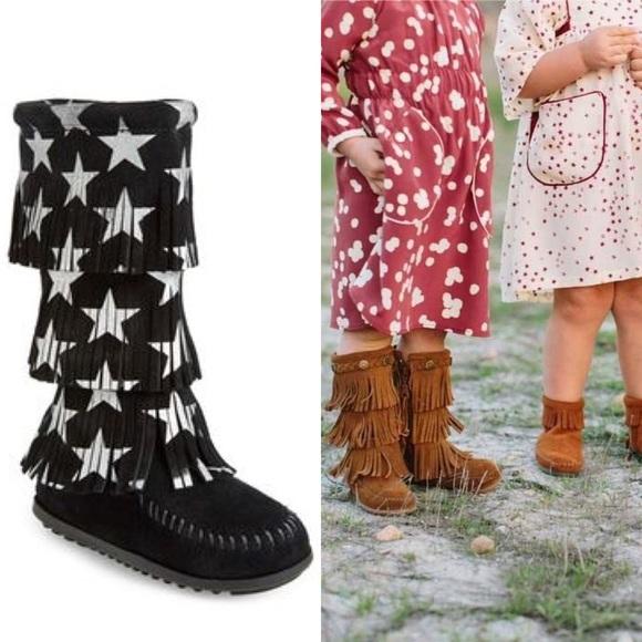 Fringe Boots Girls