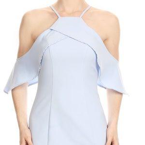 Stone Cold Fox Dresses & Skirts - ✅NEW ARRIVAL ✅Figi Blu halter lace body con