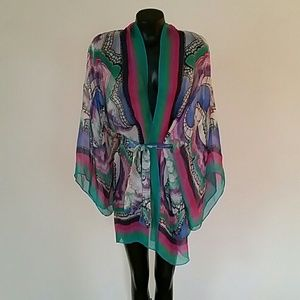 Gottex  Other - Gottex 100% silk Kimono Swimsuit Cover up