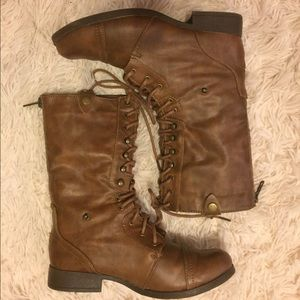 American Eagle Outfitters Shoes - American Eagle Combat Boots