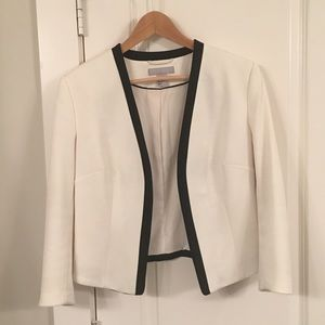 H&M black and white blazer