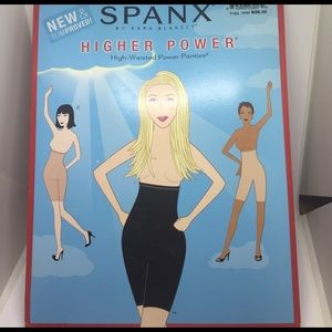 Spanx Higher Power High-Waisted Power Panties