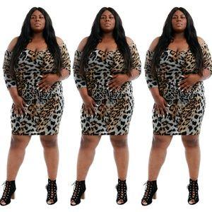Dresses & Skirts - Plus size leopard dress 2x 3x