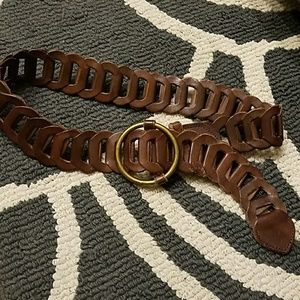 Hollister Accessories - Hollister genuine leather brown belt