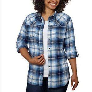 Jachs Girlfriend Bea Plaid Flannel Shirt