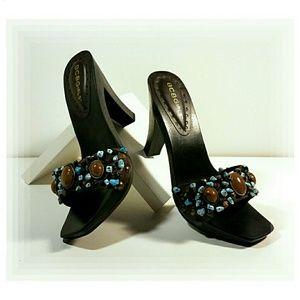 BCBGIRLS Leather Sandals