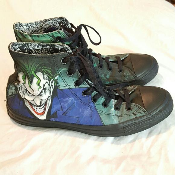 fee7953c8448 Converse Other - RARE Converse DC comics The Joker high trainer
