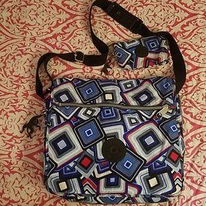 Kipling Handbags - Kipling Messenger Bag w/Makeup Bag