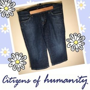 Citizens of Humanity Pants - Citizens of Humanity Bardot Stretch Jean Capris 32