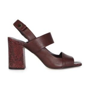 Whistles Shoes - Whistles sandals in maroon