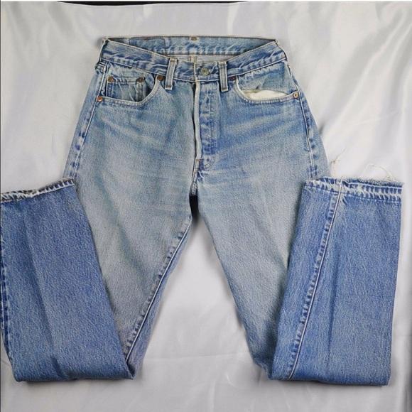 73bd1cd0 Levi's Jeans | Vintage Selvedge 501 Levis Sz 2526 | Poshmark