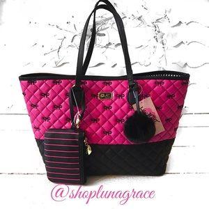 Betsey Johnson Handbags - New🖤 Betsey LB Sarah Tote