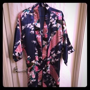 Beautiful sateen robe