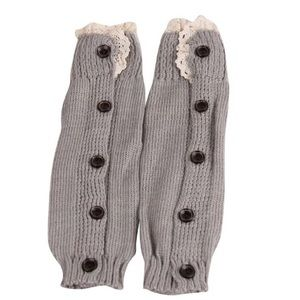 Other - ⭐️2 Left⭐️Knitted Lace Boot Cuffs