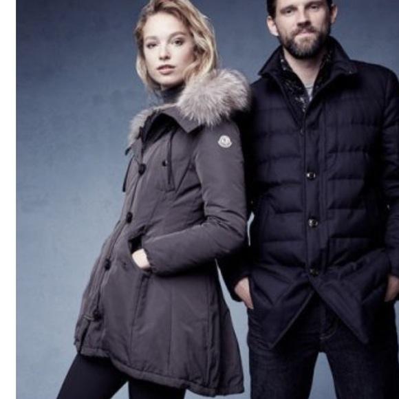 65c18c49d Moncler Arriette Fur-Trim Puffer Coat Size 2 (Med)