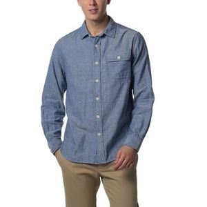 Grayers Other - Blue Cream Double Cloth Twill Shirt