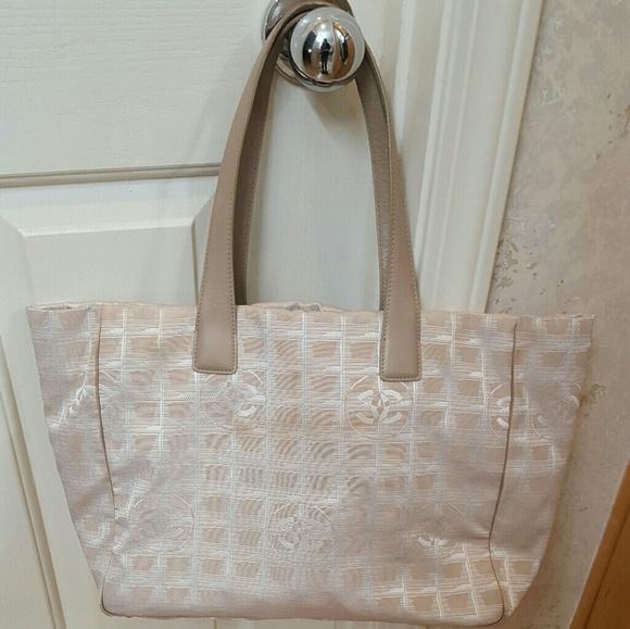 11262e788d31 CHANEL Handbags - Authentic Chanel Nylon CC logo Travel Line Tote
