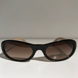 CHANEL Accessories - Chanel Quilted Leather Sunglasses